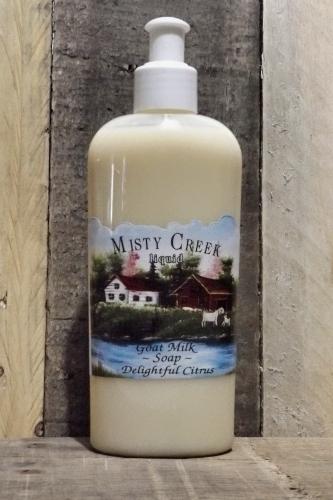 Goat Milk Liquid Soap Delightful Citrus