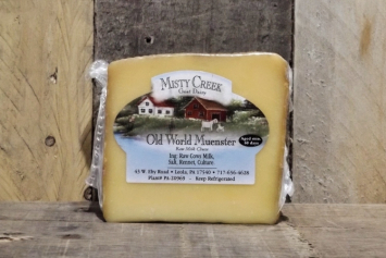 Misty Creek Old World Munster Cheese