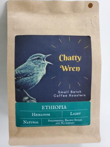 Light Roast Coffee - Ethiopia Kembata Whole Bean