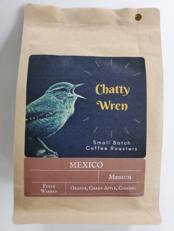 Medium Roast Coffee - Mexico Chiapas Whole Bean