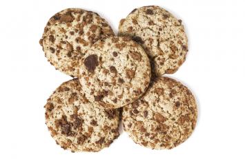 Heathbar Snickerdoodle Cookies