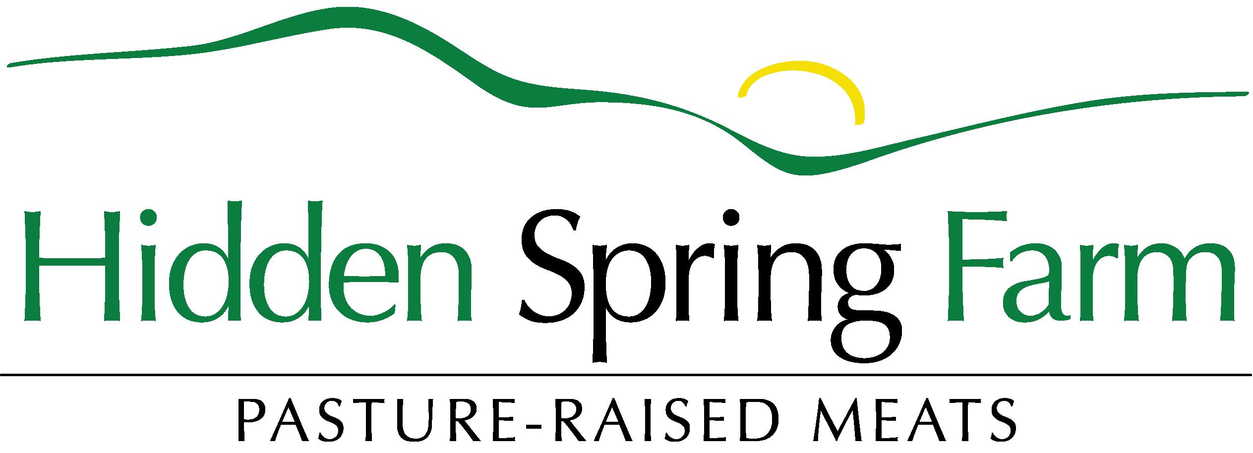 Hidden Spring Farm Logo