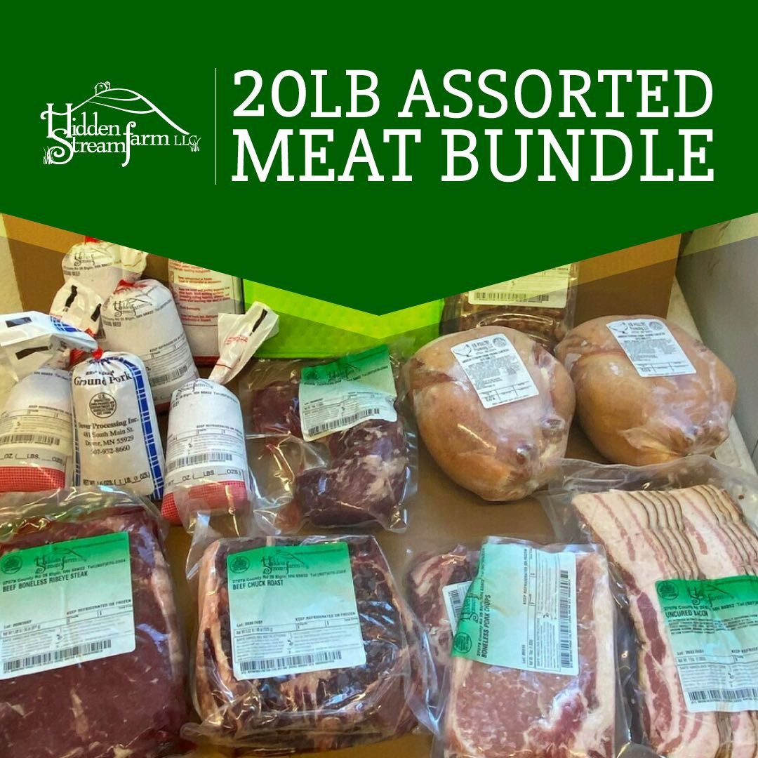 20 lb. Assorted Meat Bundle
