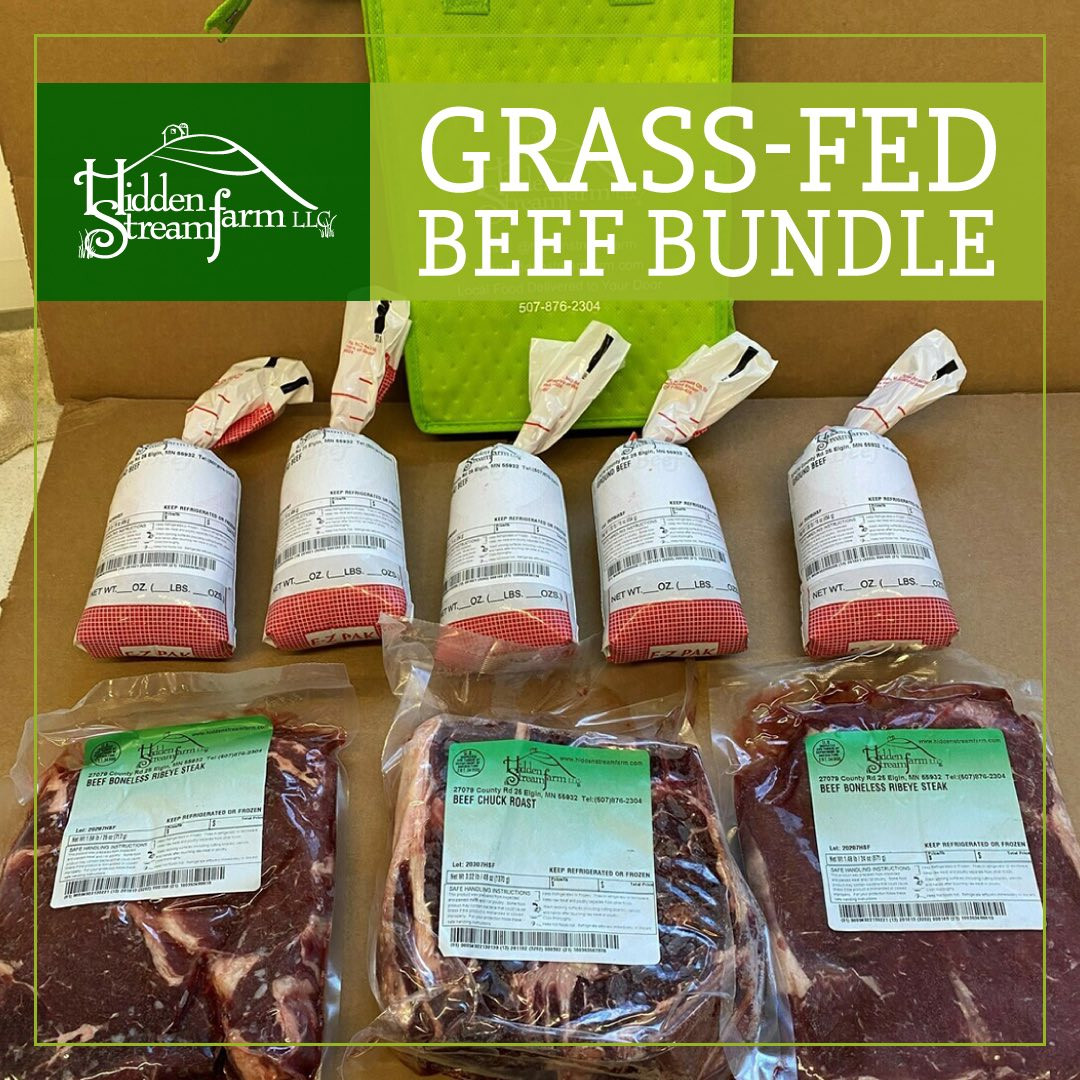 Grass-Fed Beef Bundle