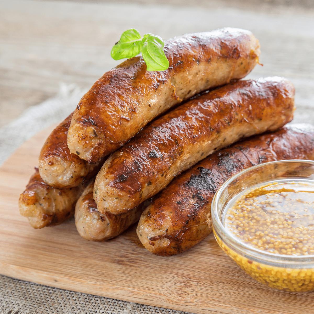 All-Natural Pork Bratwurst MSG-Free