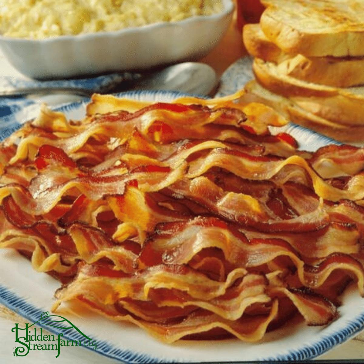 All Natural Bacon No Nitrates