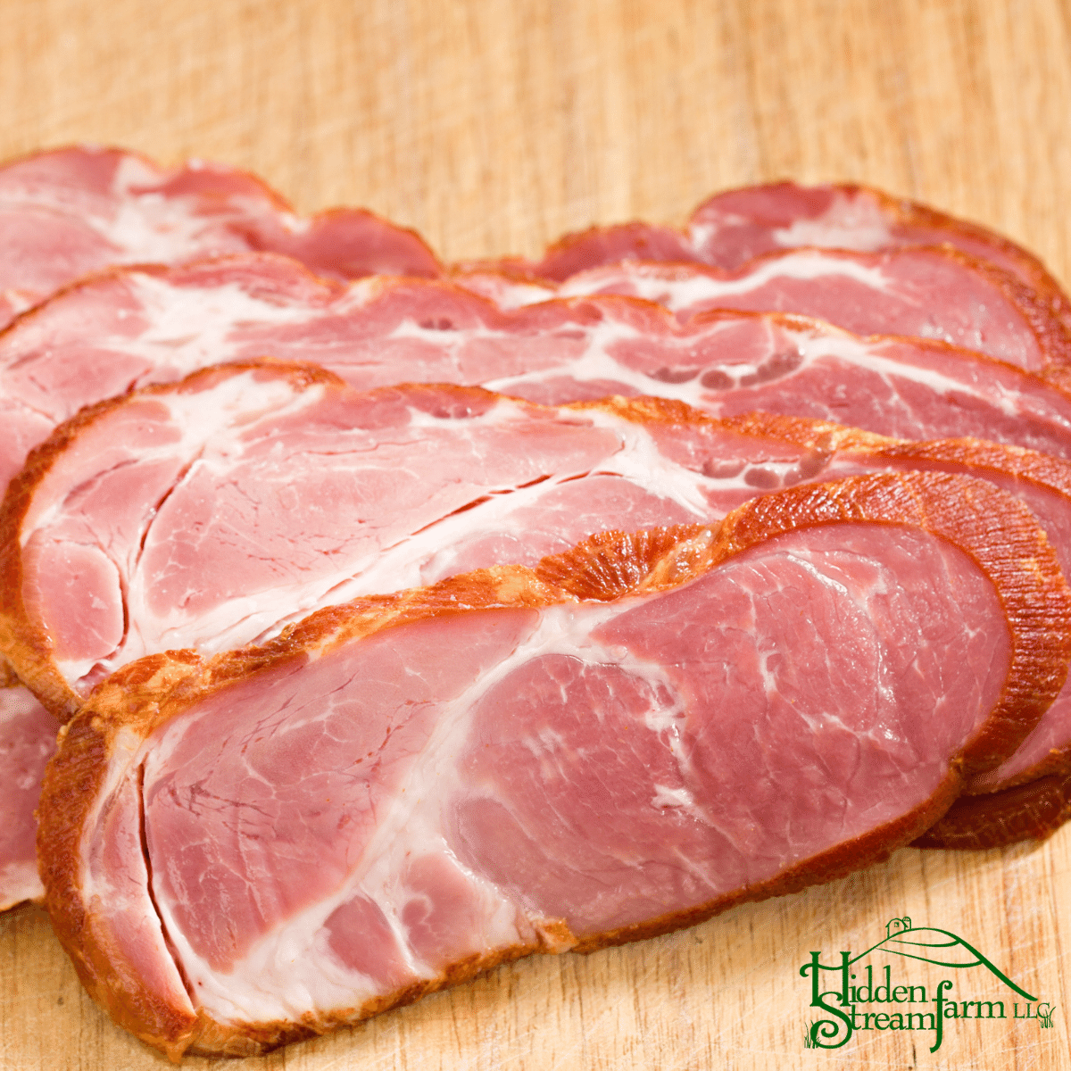 All Natural Cottage Bacon, Uncured