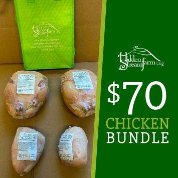 Chicken Bundle, Pasture Raised
