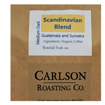 Coffee, Scandinavian Blend - Medium Roast
