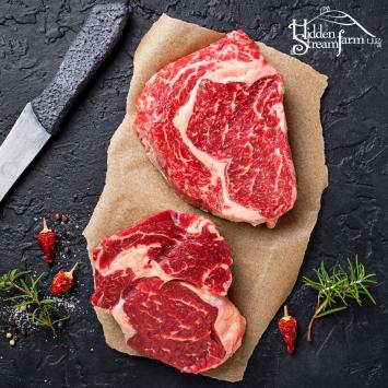 Grass-Fed Beef Ribeye Steak