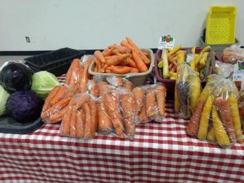 Vegetables, White Carrots, 3 lb