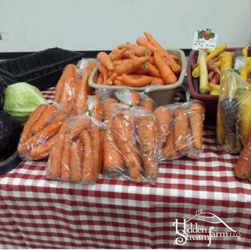 Vegetables, Rainbow Carrots, 3 lb