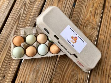 Chicken Island Farm Eggs