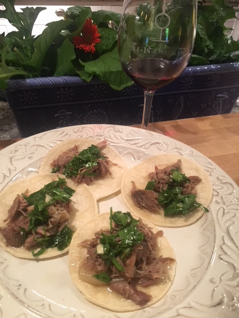 Shredded Lamb Tacos!