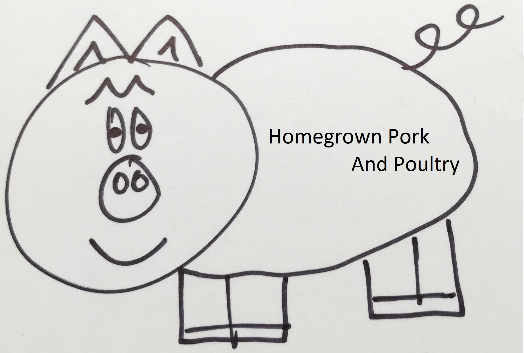 Homegrown Pork and Poultry Logo