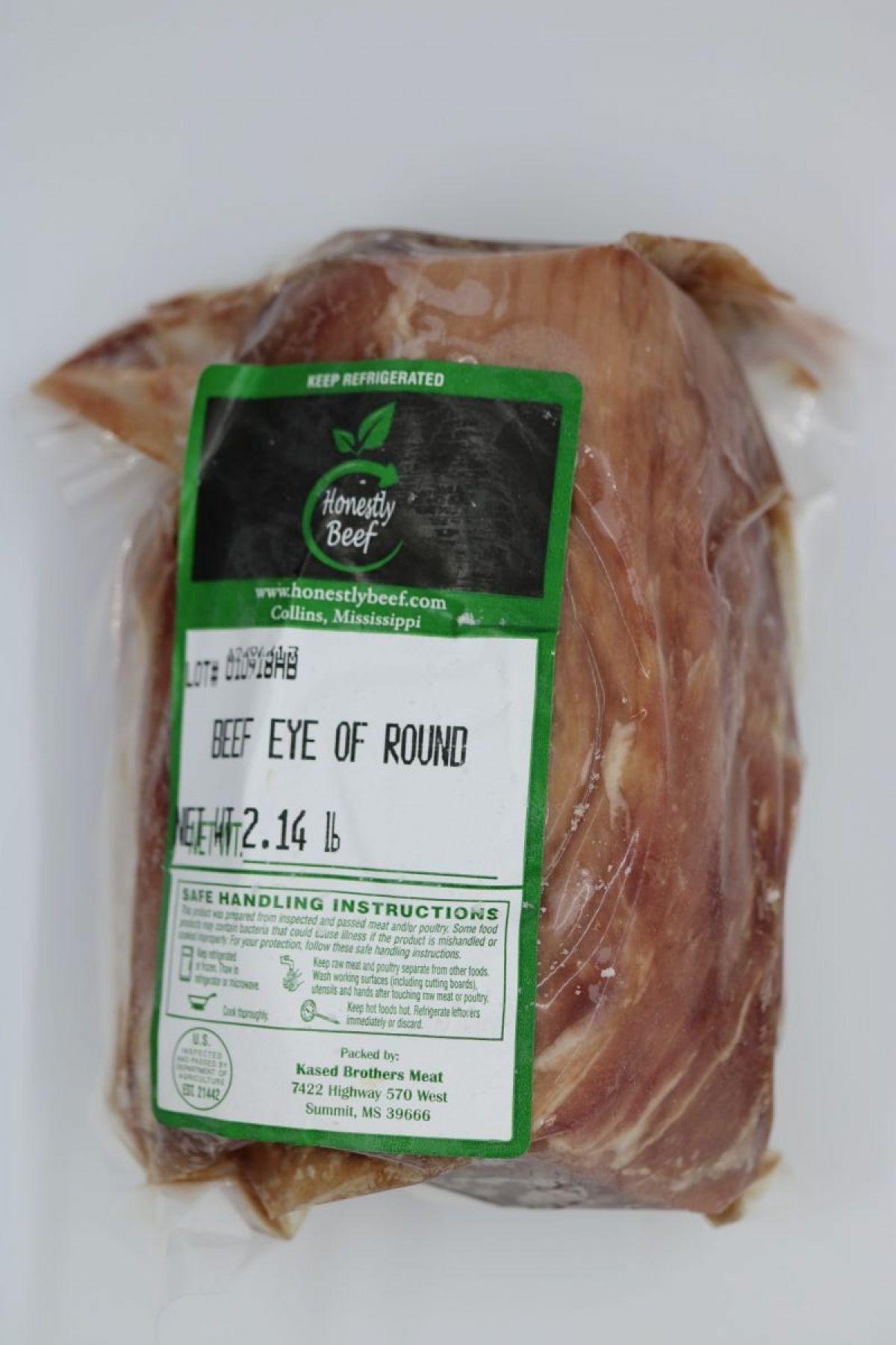 Roast - Eye of Round