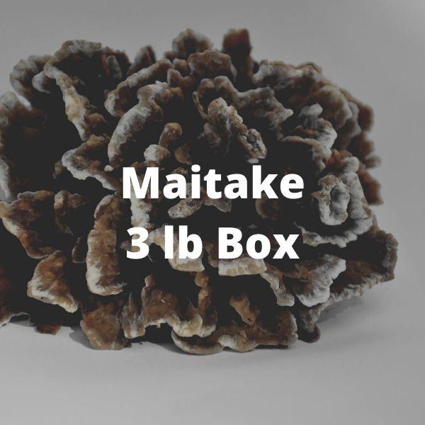Maitake Mushrooms (3 lb box)