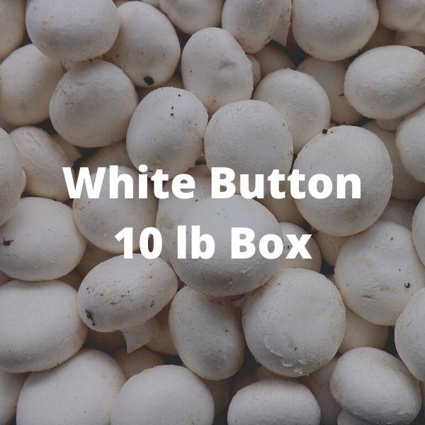 White Button Mushrooms (10 lb Box)