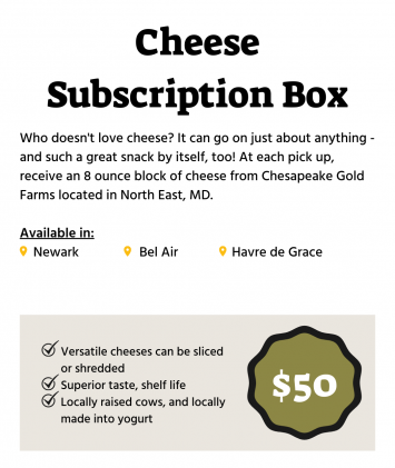 Winter Cheese Subscription