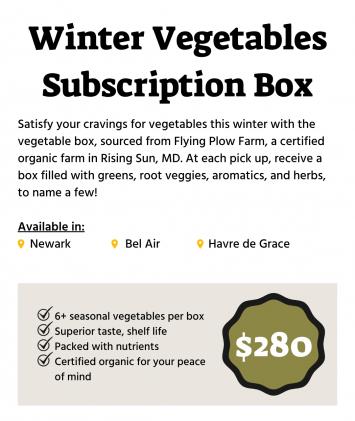 Winter Vegetable Box Subscription