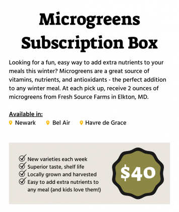 Winter Microgreens Subscription