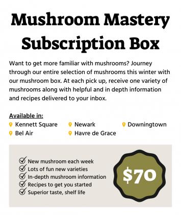 Winter Mushroom Subscription