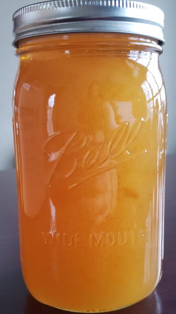 Raw Honey - Quart Glass Jar