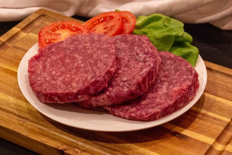 Grain-Fed Ground Beef Patties