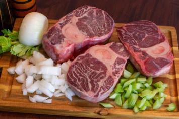 Grain-Fed Beef Shanks