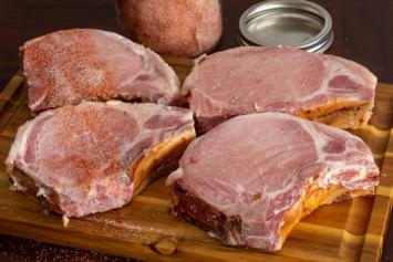 "1"" Smoked Bone-In Pork Chops"