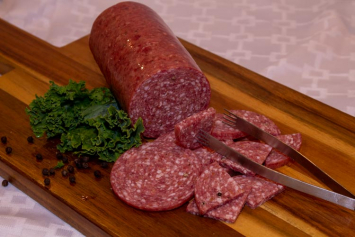 Grain-Finished Beef Summer Sausage