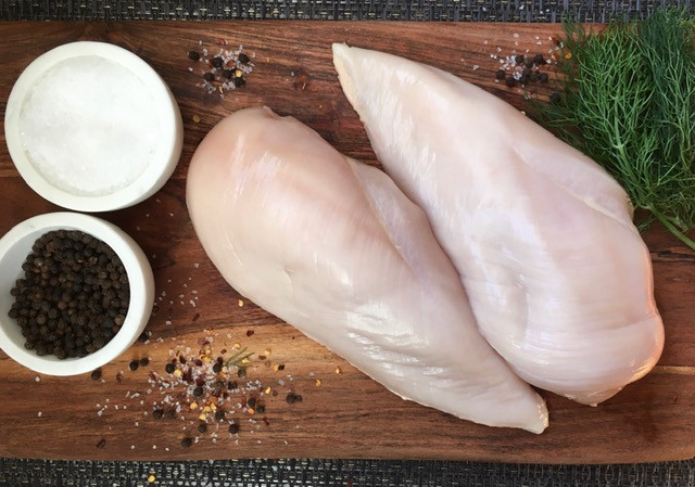 Boneless/Skinless Breast (2/pk) .75-.99lb