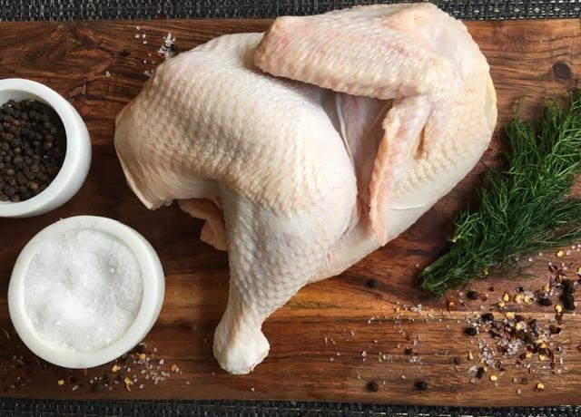 Half of a Whole Chicken