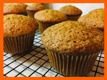 Gluten, Dairy & Soy Free Calabaza Spice Muffins