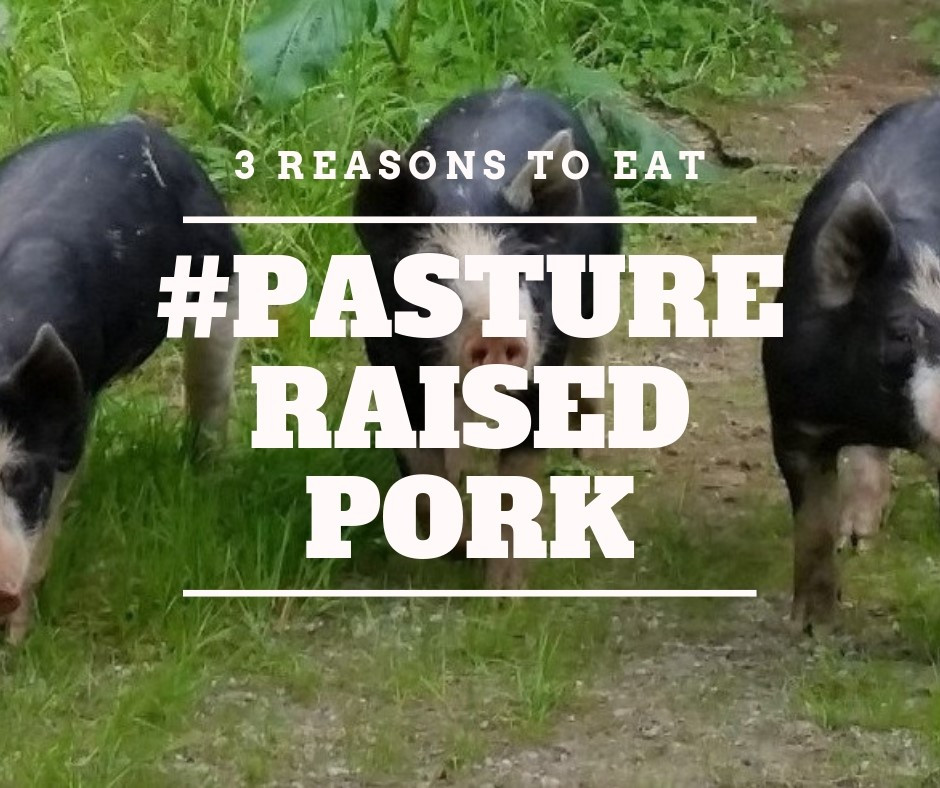 3 Reasons to Eat Pasture Raised Pork