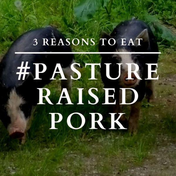 3 Reasons to Eat Pasture Raised Pork