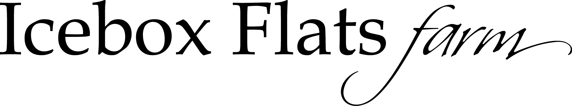 Icebox Flats Farm Logo