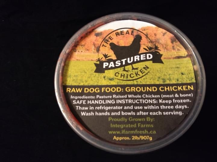 Chicken - Raw Pet Food - 2 Pounds Per Package