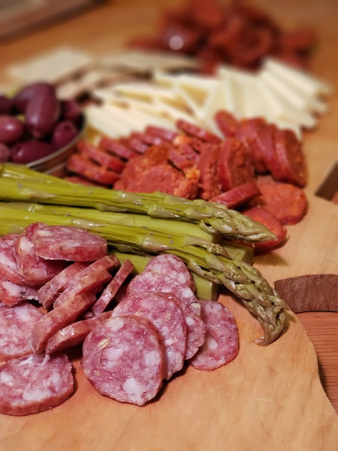 Charcuterie - Fennel Salami w/ Red Wine