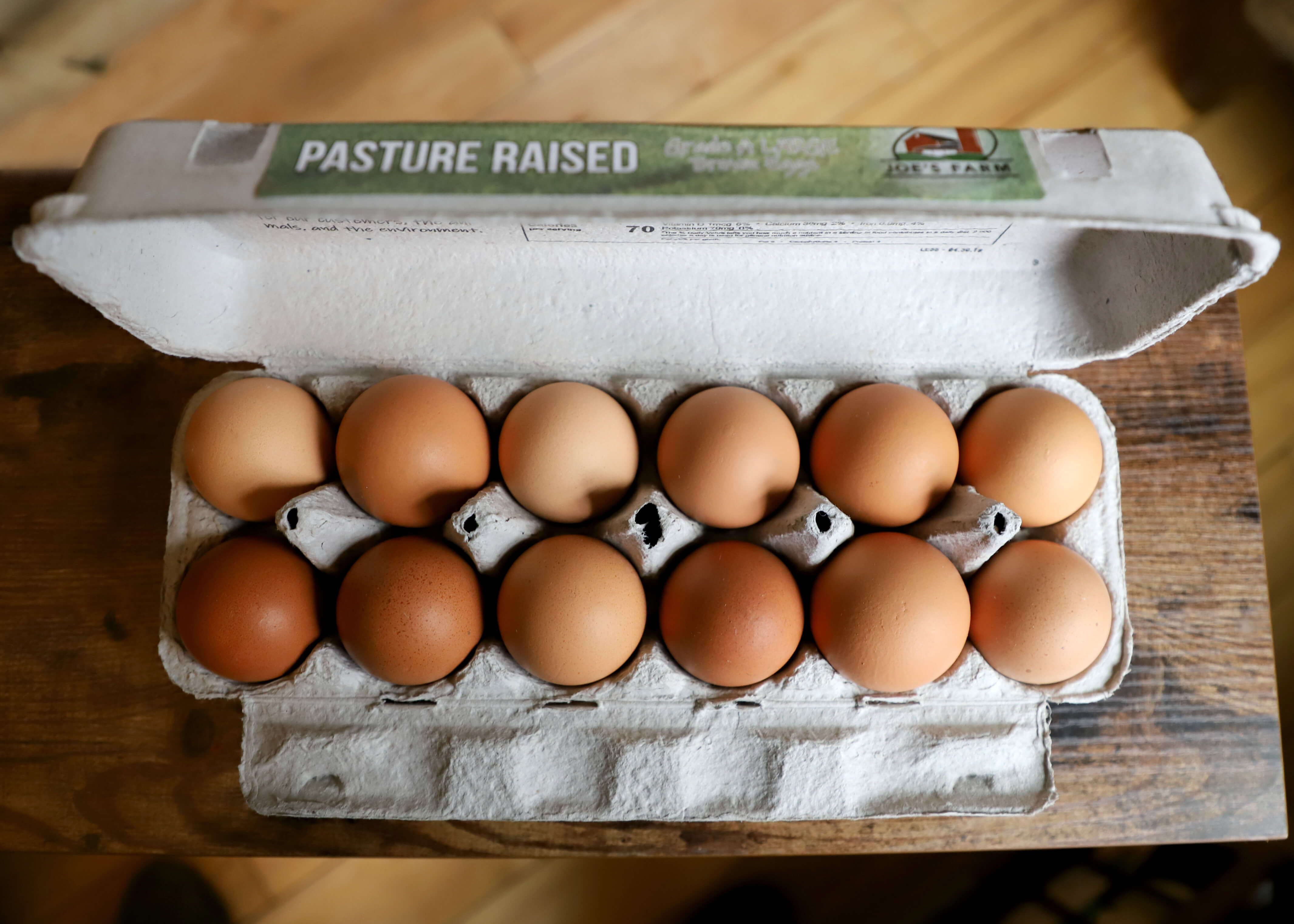 Chicken Eggs - Pasture-Raised