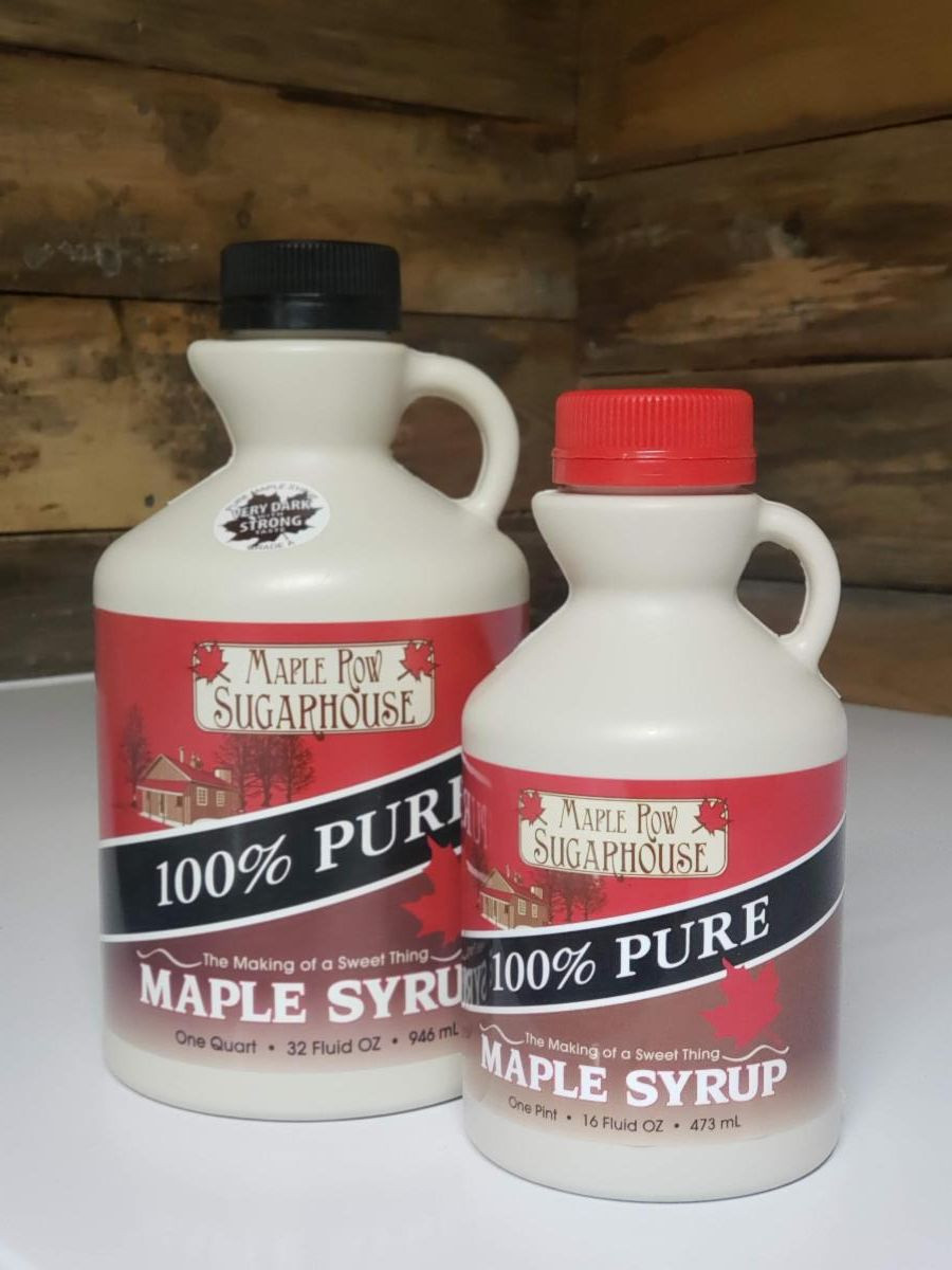 Maple Syrup - Pint - Grade A - Light and Sweet
