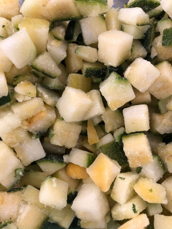 Vegetables - Diced Zucchini