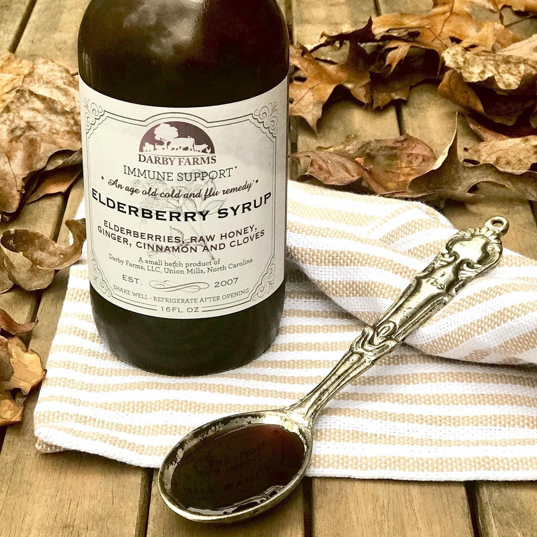 Elderberry Syrup - 16 ounce