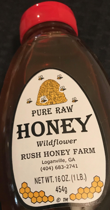 Honey - 1 pound bottle