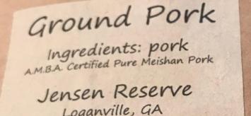 Ground Pork - Meishan