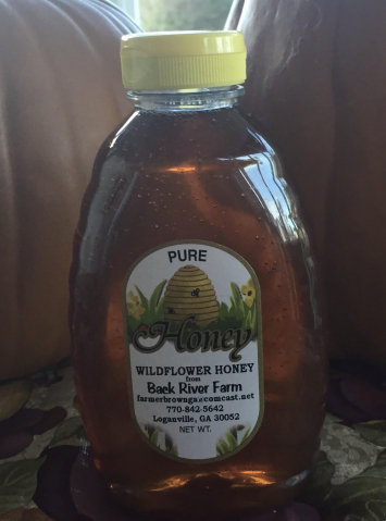Honey - 16 oz - Certified Naturally Grown