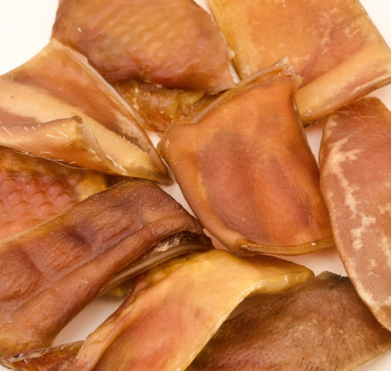 Pig Ear Pieces - Small Size Dogs Treats