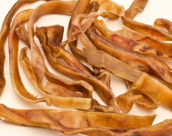 Small dog chew strips