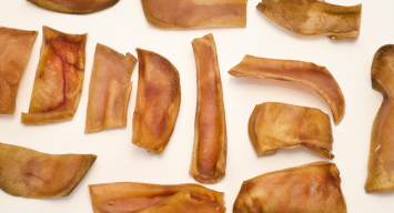 Pig Ear Pieces - Medium Size Dogs Treats