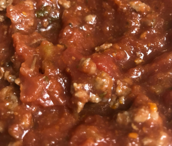 Rustic Red Sauce with Ground Beef - 16 ounce